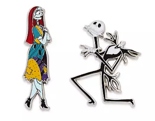 Jack Skellington and Sally Couples Pin Set – The Nightmare Before Christmas