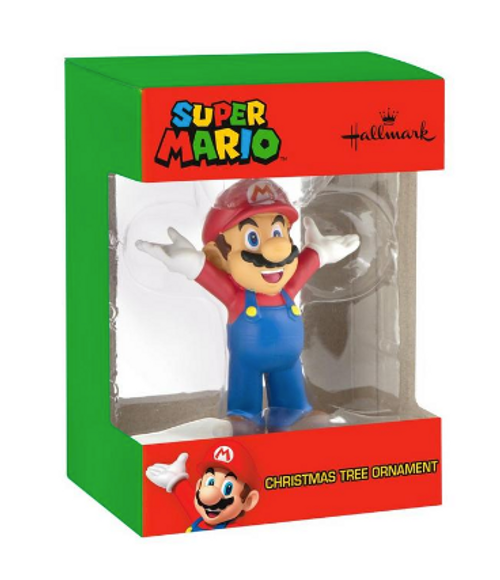 Super Mario Bros. Mario Christmas Tree Ornament