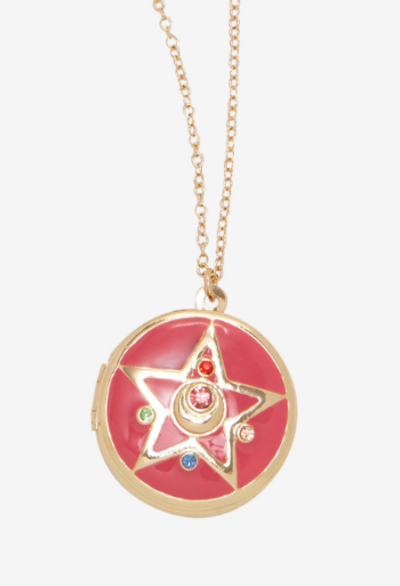 SAILOR MOON PINK STAR LOCKET NECKLACE