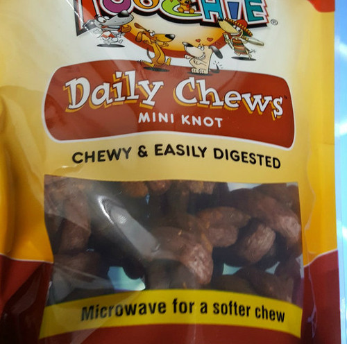 """Beef & Bacon """"MICRO SIZE""""  Double Knots -14  Pack"""