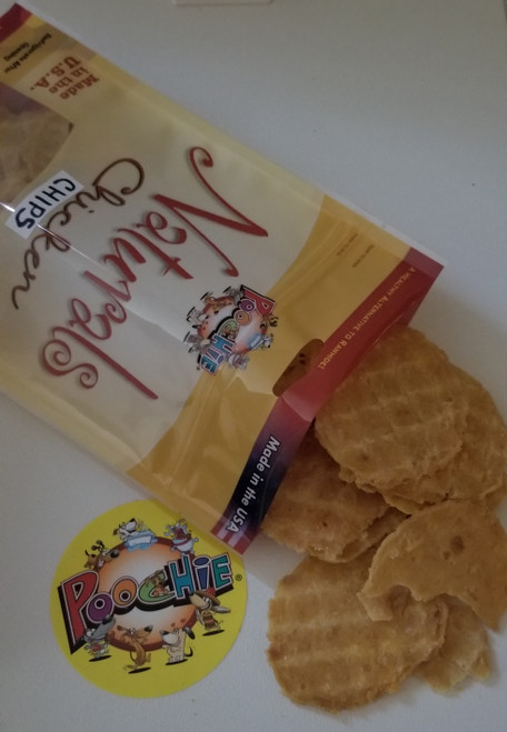 Natural Real Chicken Breast Crunchee Chips: Flip Your BFF Family Pooch One of These  Natural Chips For  A Daily Crunch !