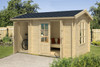 Wrexham 1 log cabin from Lasita
