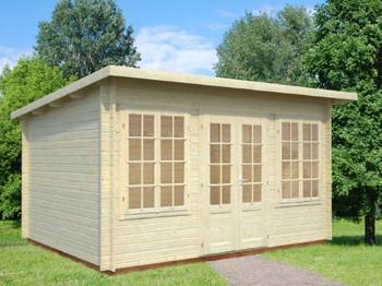 Lisa 1 - 4.0m x 3.0m - 34mm Log Cabin - Under 2.5m
