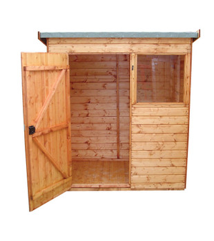 Suffolk Pent Shed - Variety of Sizes