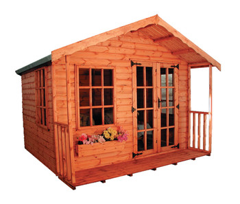The Cotswold Summerhouse is available to purchase will delivery available all over mainland UK.