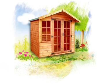 The Clipston Summerhouse is a wonderful summerhouse.