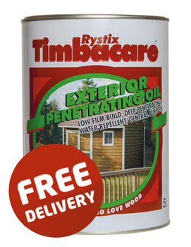 Rystix Timbacare Decking Penetrating Oil - 5L
