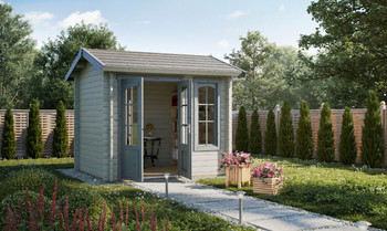 Alex Mini - 2.5m x 2.0m - 44mm Log Cabin - Under 2.5m