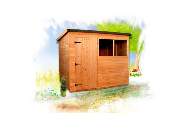 The Suffolk Shed available to purchase from Cabins Unlimited.