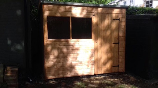 Customer image of Suffolk shed