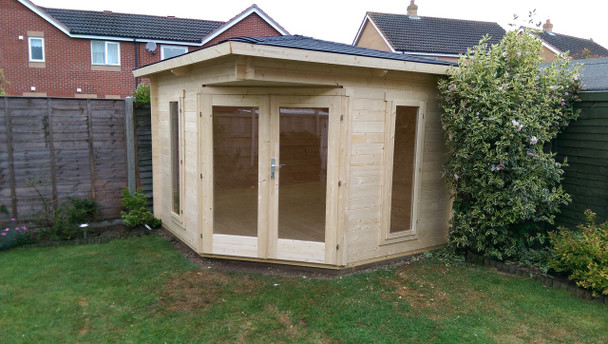 Customer image of the Edinburgh 1 Installed by Cabins Unlimited.