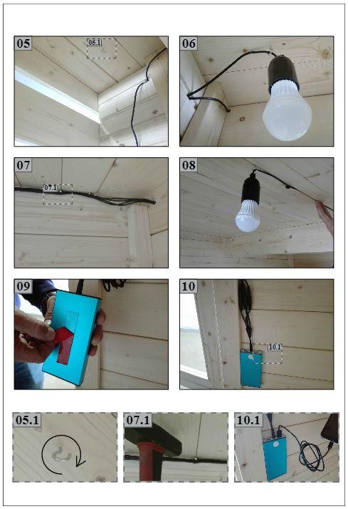 Solar Panel Instructions B