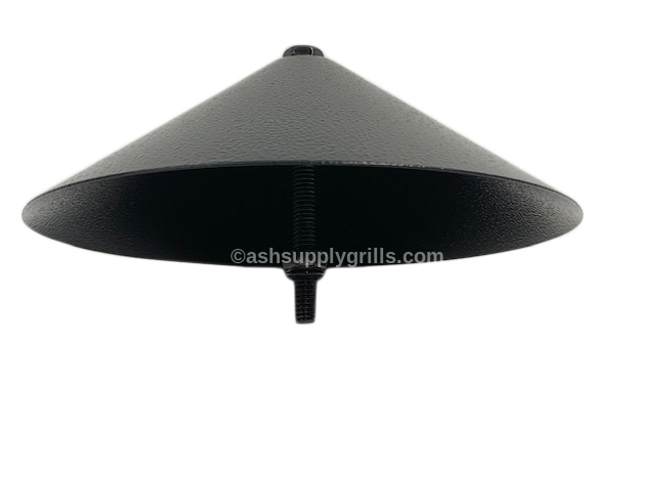 TRAEGER PELLET GRILLS GENUINE REPLACEMENT PART - BLACK CHIMNEY CAP WITH NUT AND STUD KIT0008