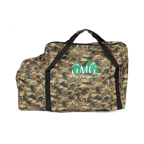 Green Mountain Grills Genuine Accessory -  Davy Crockett tote bag Camo GMG 6015