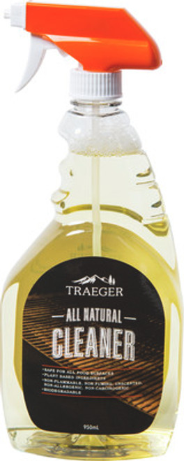 TRAEGER PELLET GRILL GENUINE ACCESSORY -  ALL NATURAL GRILL CLEANER 950ML BAC403