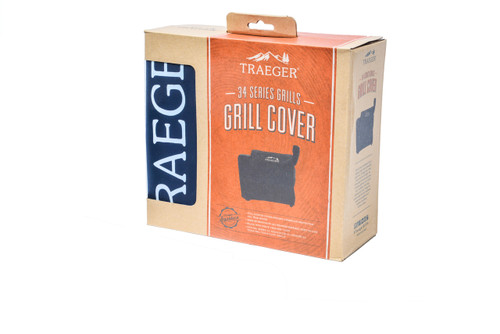 TRAEGER PELLET GRILLS GENUINE  FULL-LENGTH GRILL COVER - 34 SERIES BAC380