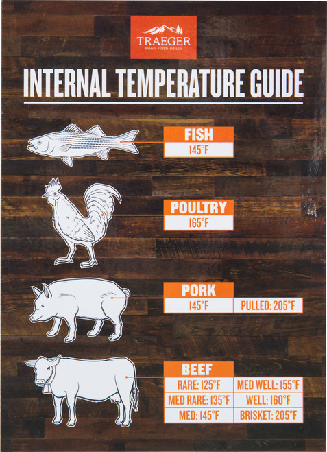TRAEGER BAC462 MAGNETIC INTERNAL TEMP GUIDE