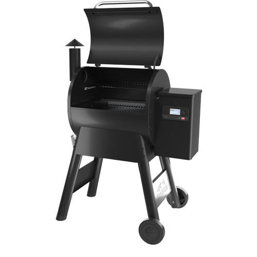 TRAEGER PRO 575 WOOD FIRED PELLET GRILL BLACK