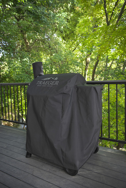 TRAEGER PELLET GRILLS GENUINE ACCESSORY -  PRO 575 & PRO 22 FULL LENGTH GRILL COVER BAC503