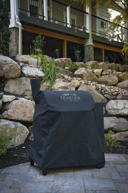 TRAEGER PELLET GRILLS GENUINE ACCESSORY -  PRO780 FULL LENGTH GRILL COVER BAC504