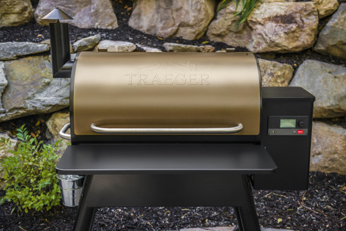 TRAEGER PELLET GRILLS GENUINE ACCESSORY -  PRO SERIES 780 - IRONWOOD 885 FRONT FOLDING SHELF  - BAC442