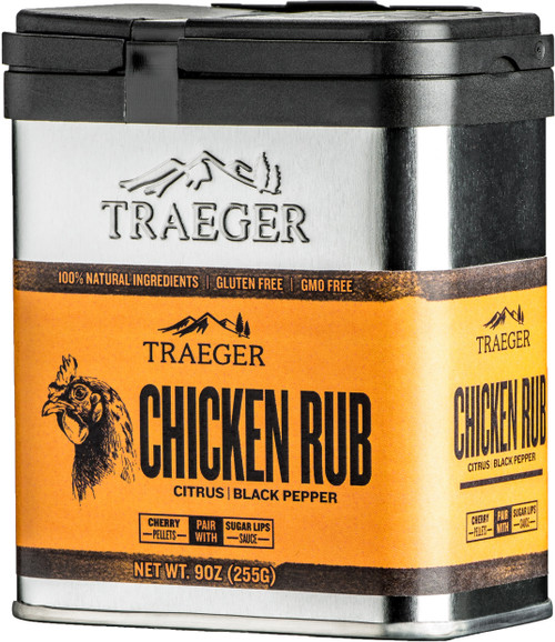 TRAEGER PELLET GRILLS GENUINE CHICKEN RUB SPC170