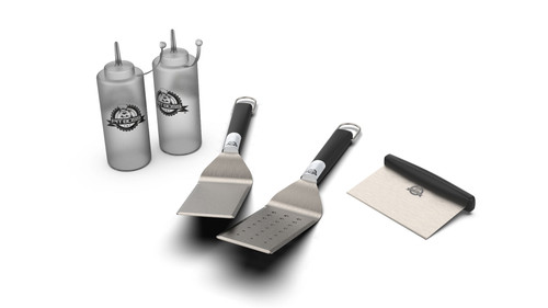 PIT BOSS GRIDDLES GENUINE ACCESSORY - 5 PIECE GRIDDLE ACCESSORIES KIT 20010