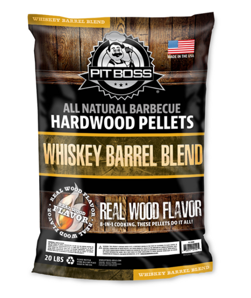 PIT BOSS PELLET GRILLS GENUINE PELLETS - 55240 20 LB WHISKEY BARREL BLEND