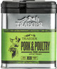 TRAEGER PELLET GRILLS GENUINE  SPC171 PORK AND POULTRY RUB 9.25 OUNCE TIN