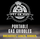 PIT BOSS GAS GRIDDLE - 10557 PB336GS 2 BURNER TABLETOP GRIDDLE PBGDL0336AD10557