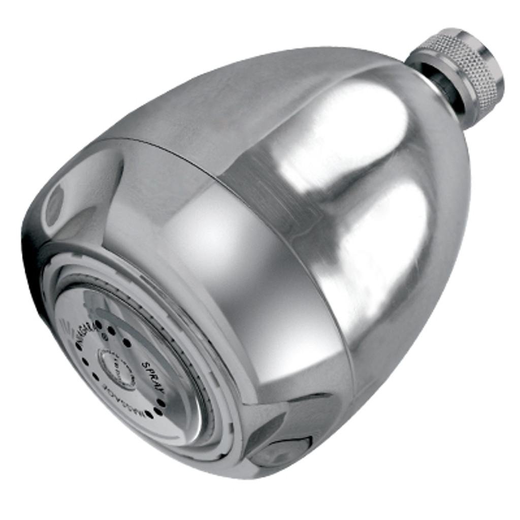 Earth® 3-Spray Showerhead, 1.25 GPM, Chrome