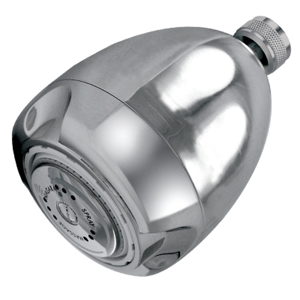 Earth® 3-Spray Showerhead, 2.0 GPM, Chrome