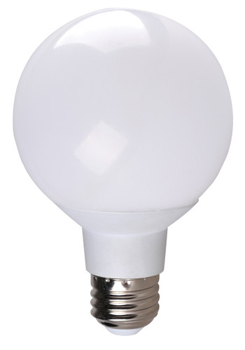 4-PACK Dimmable LED Globe, 6W (40W equiv), 2700K
