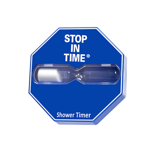 Blue 5 minute Shower timer