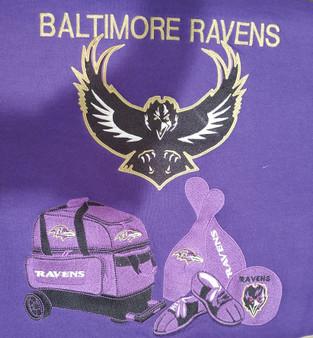 Baltimore Ravens Gear Design Small Zip Hoodie - Purple