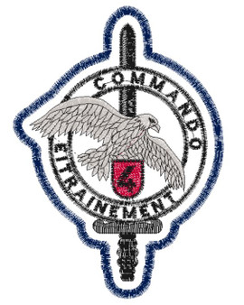 Commando Entrainement Patch