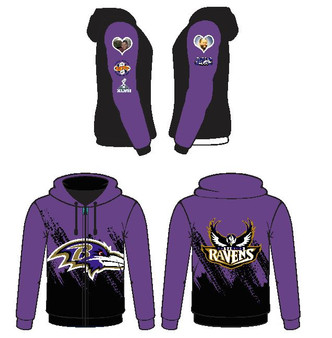 Sub - Baltimore Ravens Hoodie 1