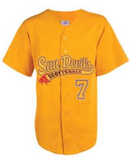 Teamwork Baseball Jerseys - Gold Large