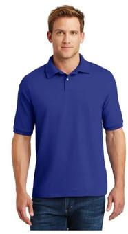 Hanes 054X Polo Shirt EcoSmart ComfortBlend.