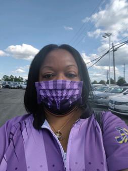 Mask - Purple City