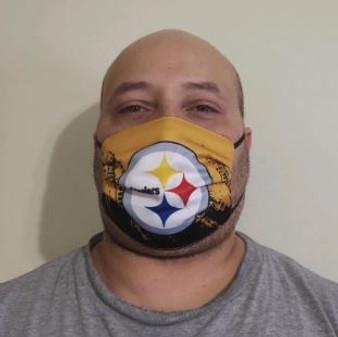 Mask - Pittsburgh Steelers