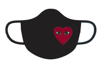 Embroidery - Heart Mask