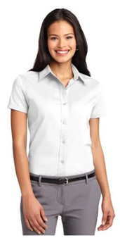 Port Authority L508 Women's Short-Sleeve Easy Care Shirt