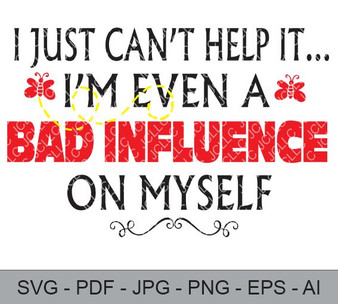 SVG - I Just Can't Help It