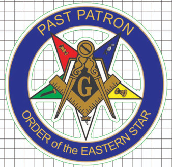Window Decal - OES Past Patron