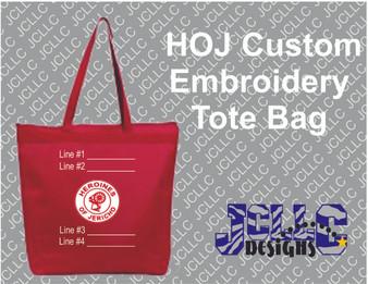 HOJ Custom Tote Bag