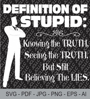 SVG -Definition of Stupid
