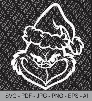 SVG -Grinch 2