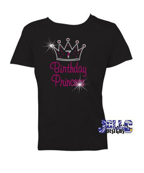 Rhinestone - Birthday Princess
