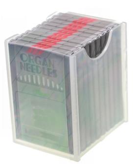 ORGAN EMBROIDERY NEEDLES - DBX-K5 - 75/11 SHARP - CHROME - BOX OF 100 NEEDLES